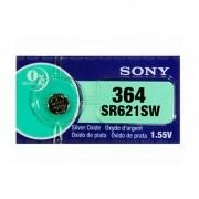 Bateria  Sony 1,55V SR621SW Oxido de Prata (364)