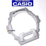 Bezel + Aro Interno Relogio Casio G-shock Branco Brilhante GR-8900A-7