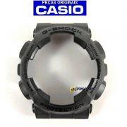 Bezel Capa Casio G-shock GA-100CF-8A Resina Cinza Escuro