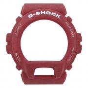 Bezel Capa Casio G-shock GD-X6900HT-4 Resina Vermelho Texturizado