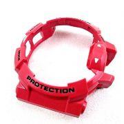 BEZEL (CAPA) Casio G-shock Mix GBA-400-4A Vermelho brilhante Verniz*