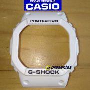 Bezel Capa  Casio G-Shock DW-5600MW,  DW-5600EH, DW-5600FS, DW-5600L Resina Branco Fosco*