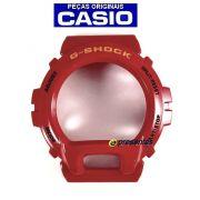 Bezel Capa DW-6900cb-4 Vermelho Verniz Casio G-Shock