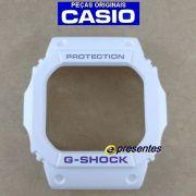 Bezel Capa G-shock Branco FOSCO GW-M5600A-7 G-5600A-7 - PEÇA ORIGINAL