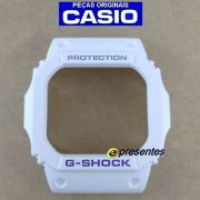 Bezel Capa G-shock Branco G-5600 GW-M5600 - PEÇA ORIGINAL