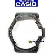 Bezel Capa Moldura Casio G-shock Preto Brilhante GA-200BW-1A