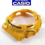 Bezel Casio G-shock Amarelo GA-100A-9A
