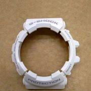 Bezel Casio G-shock Branco Brilhante GAC-100RG-7