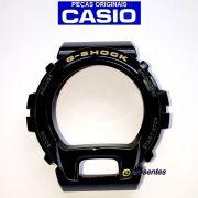 Bezel Casio G-shock DW-6900CB-1 Preto Brilhante Verniz