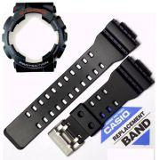 Pulseira e Bezel GA-110-1A Casio G-shock Preto Fosco