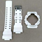 Bezel+ Pulseira Casio G-Shock Branco Fosco Ga-110rg-7a