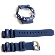 Bezel + Pulseira G-9100-2 Casio G-shock Gulfman Azul