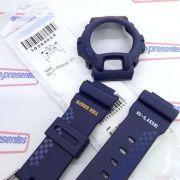 Bezel + Pulseira Casio G-Shock GLX-6900A-2 Azul Escuro Fosco
