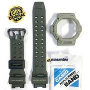 Bezel + Pulseira Verde G-9200ER-3 Gw-9200ERJ-3  G-shock Riseman *