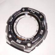 Caixa AQW-101-1AV Parte Frontal Completa  Relogio Casio