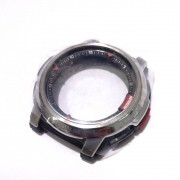 Caixe CAse + Pulseira resina preta AQF-100 peças originais