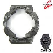 Capa Bezel Camuflado Cinza Casio G-Shock GA-100CM  GD-120CM