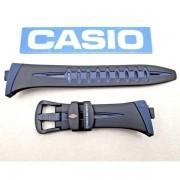 CHR-100-1 Pulseira Casio 100% Original - Preta E Azul