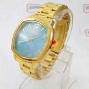 Co2035KrK/4A Relógio Condor Dourado Feminino 37mm Madrepérola