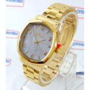 Co2035KrK/4x Relógio Condor Dourado Feminino 37mm Madrepérola