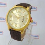 Co2115xw/k4d Relógio Feminino Condor Dourado 42mm largura 2 pulseiras