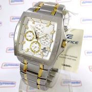 EF-329SG-7A Relógio Casio Edifice Quadrado Aço - 100% Original