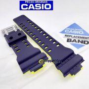 GA-110LN-2A Pulseira Casio G-Shock AZUL / Amarelo *