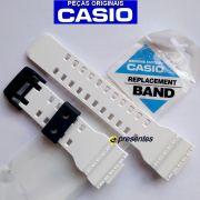 GA-700-7a Pulseira Casio G-shock Resina Branco - 100% original