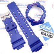 GD-120TS-2 Pulseira + Bezel Azul Casio G-Shock - 100% Original