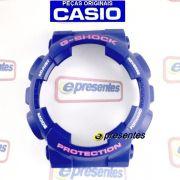 GD-120TS-2dr Bezel Azul letras Rosa/Branco Casio G-Shock - 100% Original