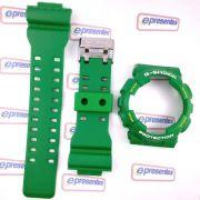 GD-120TS-3 Pulseira + Bezel Verde Folha Fosco - 100% Original