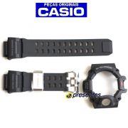 GW-9400-1 Pulseira e Bezel Preto Fosco Casio G-Shock Rangeman