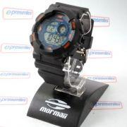 MO3415A/8A Relogio Mormaii Digital estilo GShock WR100
