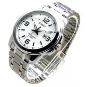 MTP-1314D-7AV Relógio Masculino Casio Analógico Aço inox WR50m