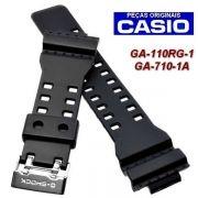 Pulseira Casio G-shock Ga-110RG,  GA-710-1A,  G-8900GB-1, GA-140AR, GAS-100AR,   GAW-100AR, GAW-100BMC, GA-140BMC Preto Fosco *