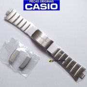 Pulseira Aço Inox Original Casio EDB-600D,  EDB-610D