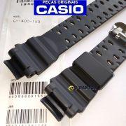 Pulseira + Bateria Solar + Anel Vedação G-1400-1a3 Casio G-shock