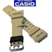 Pulseira Resina Bege GG-1000-1A5 Casio G-Shock Mudmaster *