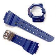 Pulseira + Bezel Azul GF-1000nv-2 / gwf-1000nv-2 Azul Escuro