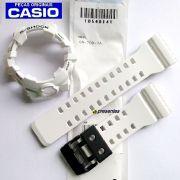 Pulseira + Bezel Branco Fosco GA-700-7A Casio G-shock