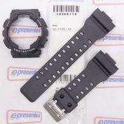 Pulseira + Bezel (Capa) Casio G-shock GA-110c-1a Cinza Grafite