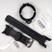 Pulseira + Bezel Capa Casio G-shock Ga-500-1a Preto fosco