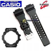 """Pulseira + bezel Capa Casio G-shock Gac-100-1a """"Original"""""""