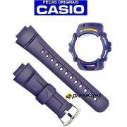 Pulseira + Bezel Capa G-2900 Casio G-shock Azul