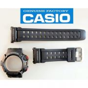 Pulseira + Bezel (capa) G-9000-1 Casio G-shock Mudman Preto