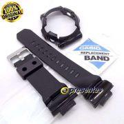 Pulseira + Bezel (Capa) GA-200BW-1A Casio G-Shock Preto Brilhante (Verniz)
