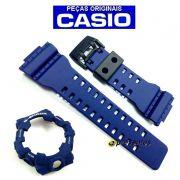 Pulseira + Bezel (capa) Ga-700-2a Casio G-shock Azul Escuro Fosco