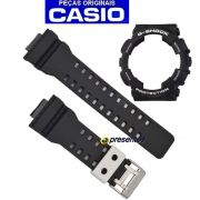 Pulseira + Bezel Casio G-shock 100% original GA-100BW-1A GA-110BW-1A