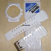 Pulseira + Bezel Casio G-shock Branco Brilhante GAC-100RG-7A