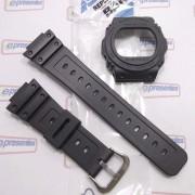 Pulseira + Bezel Casio  G-Shock DW-5700BBMB-1 DW-5700BBMA-1 DW-5750E-1B * 100% Original
